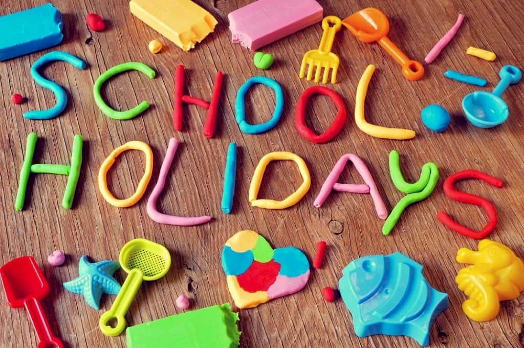 What to do during the school holidays?