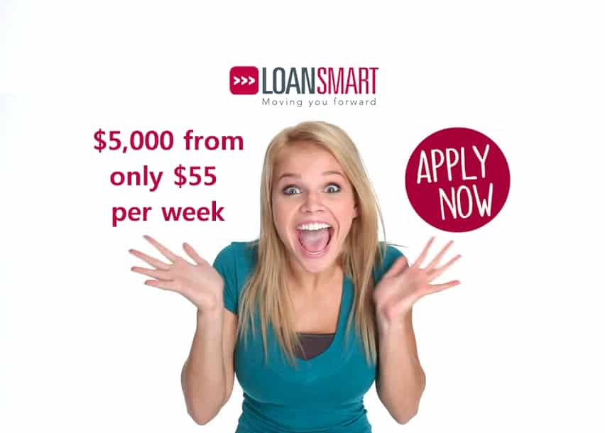 $5000 loan from $55 per week