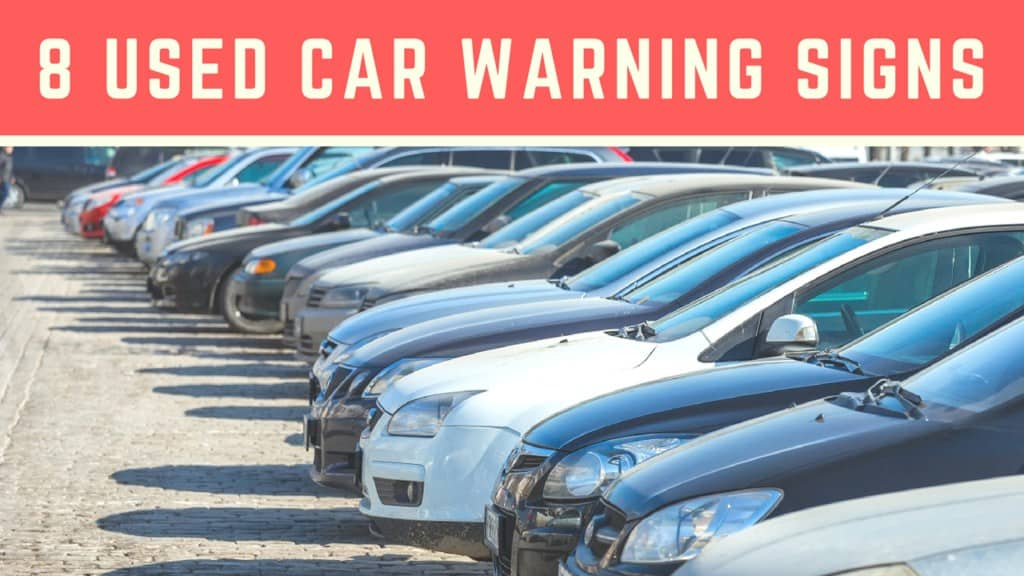 Car buying warning sign tips