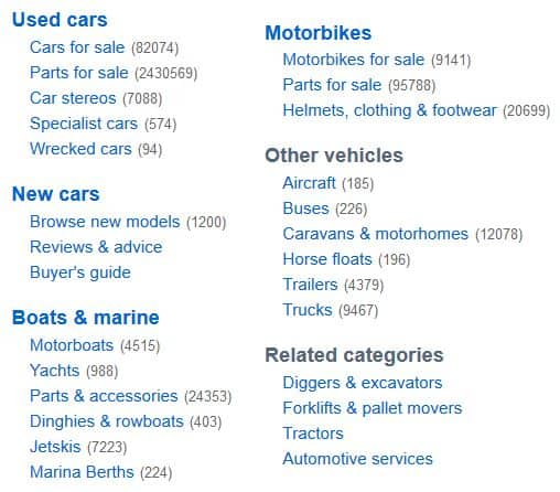Over 82,000 cars for sale on Trade Me right now