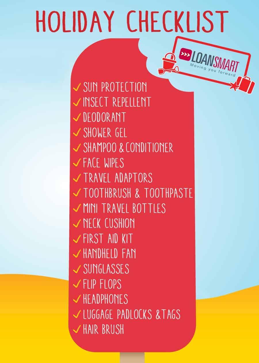 Holiday Checklist - Holiday Loans