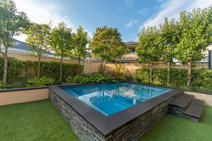 Home Improvements - Spa Pool, Landscaping