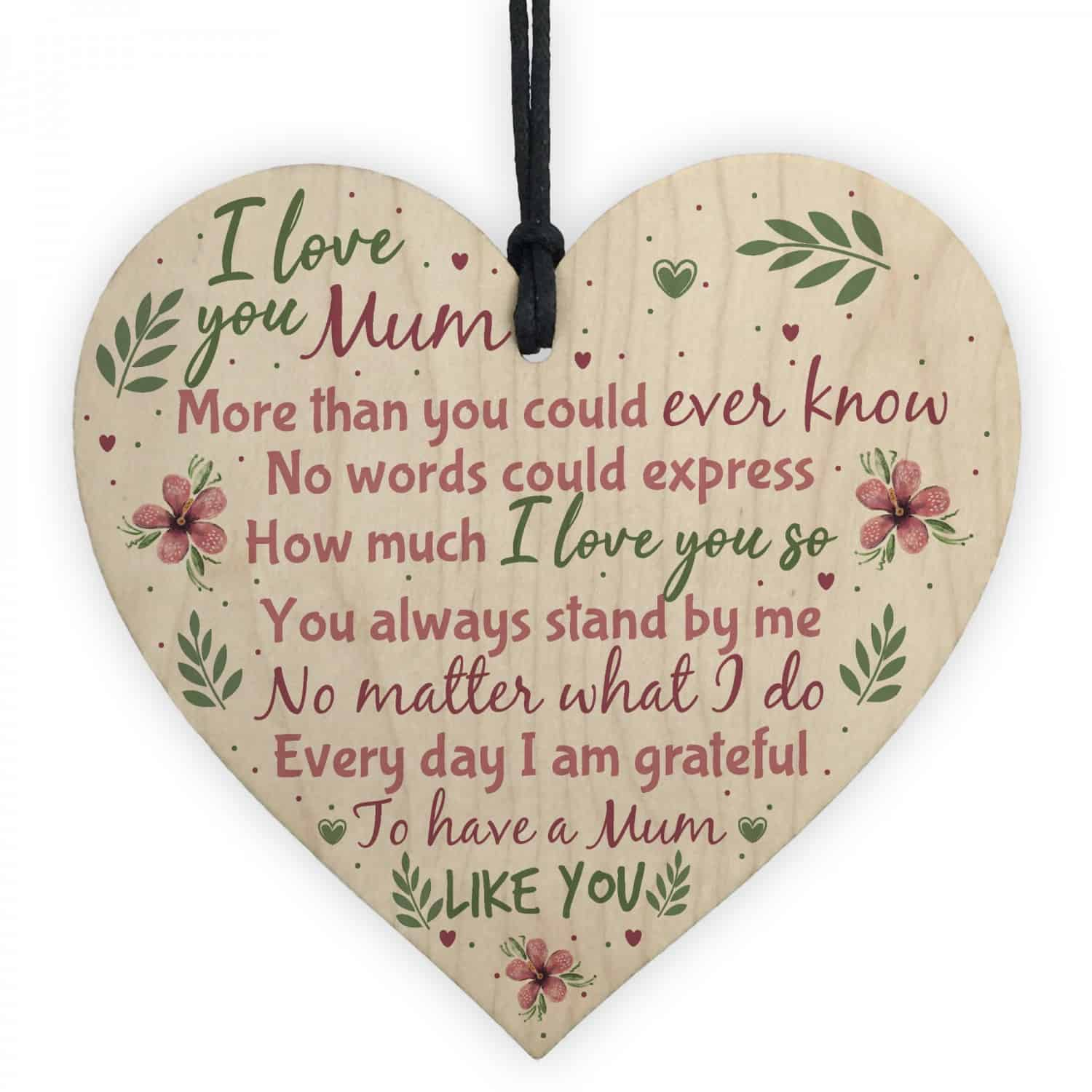 I love you mum - Mother's Day