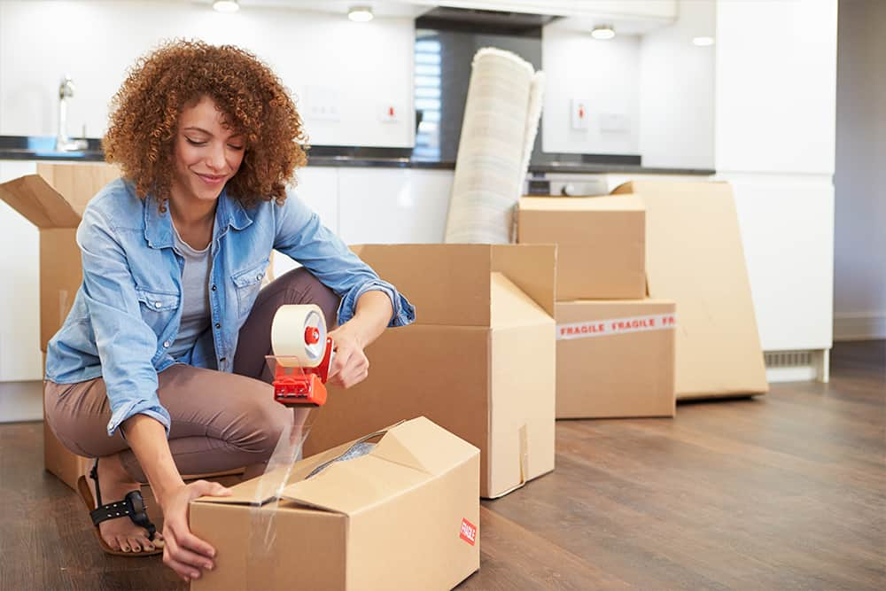 woman-moving-into-home-purchased-with-non-bank-home-loan